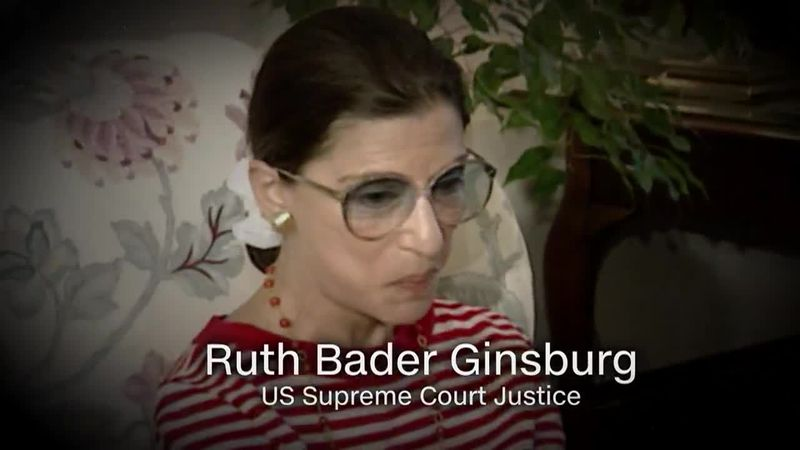 Supreme Court Justice Ruth Bader Ginsburg was one of the many notable people lost this year.