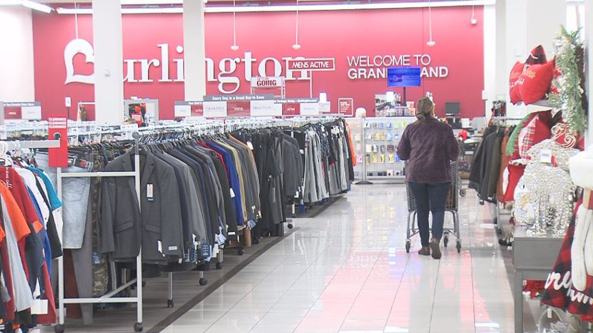 A customer shops at Burlington on Friday afternoon. (Credit:Alicia Naspretto, KSNB)