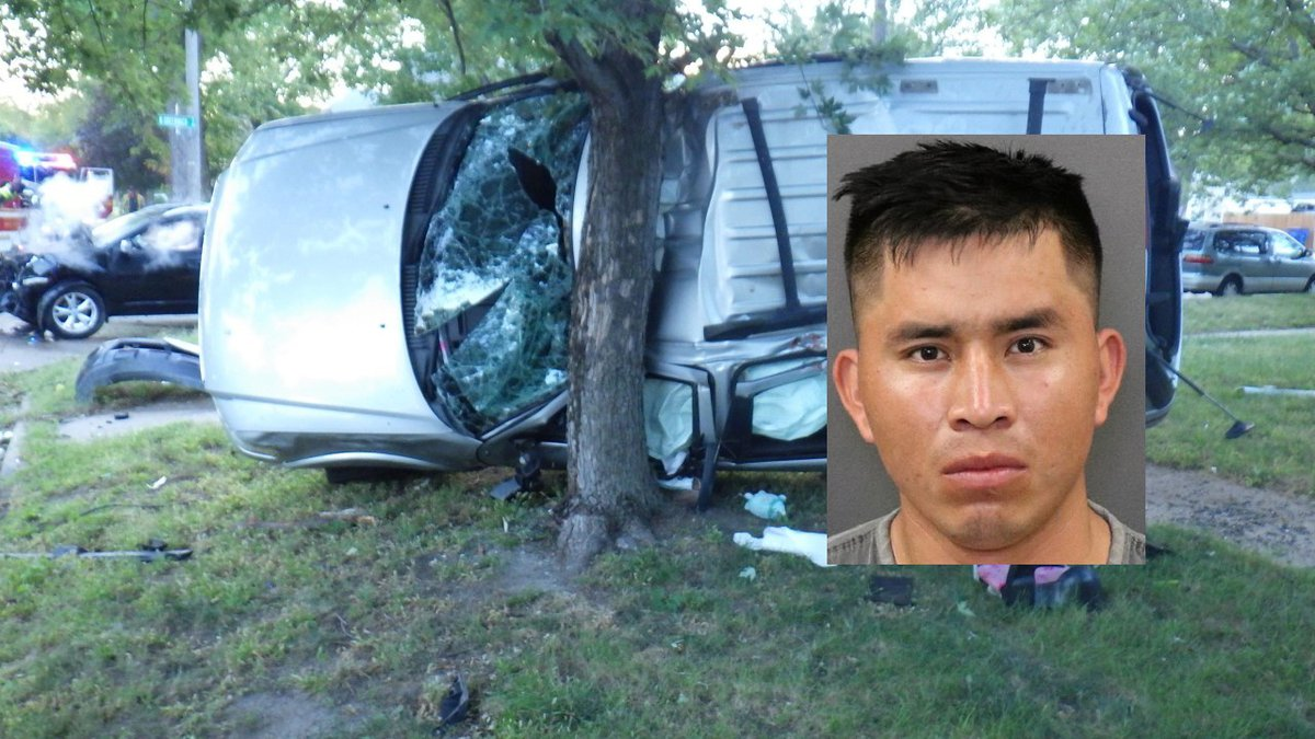 Jose Garcia Guiterrez, 23, of Grand Island, was arrested for DUI among other charges after an...