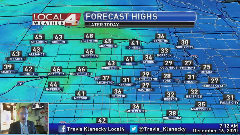 Temperatures chilly today, but some get to enjoy warmer weather a little early.
