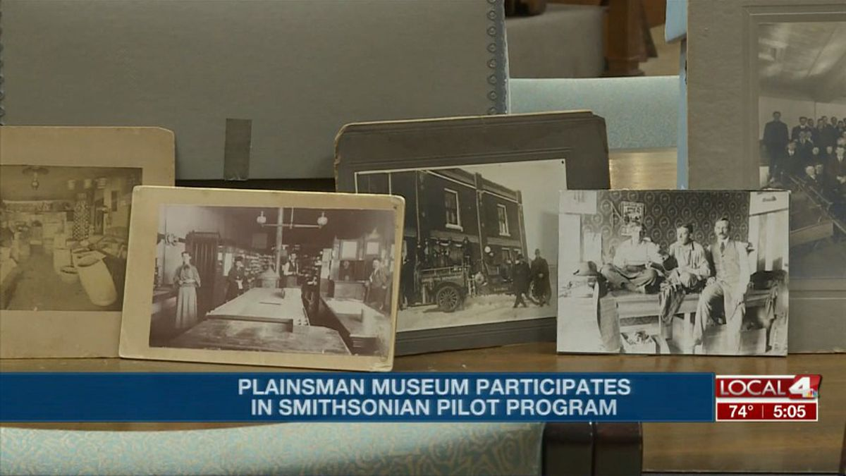 The Plainsman Museum is participating in a pilot program with the Smithsonian to create an exhibition handbook to help other museums in small communities. (Source: Kelsey Dickeson, KSNB)