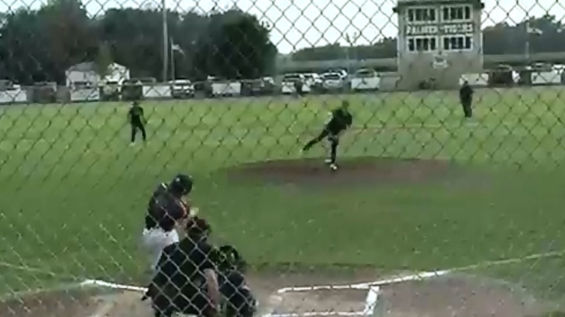 DCB records a hit against Louisville-Weepingwater in the third round of the Class C State...