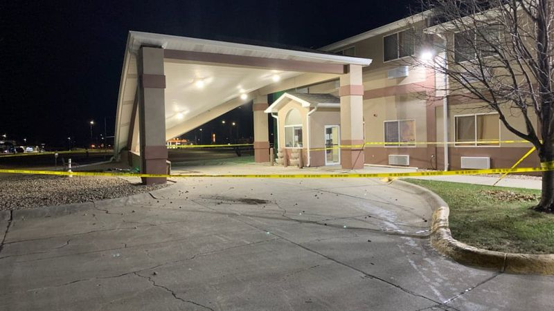 Crews were called to the Quality Inn in Hastings early Friday morning after a vehicle hit one...