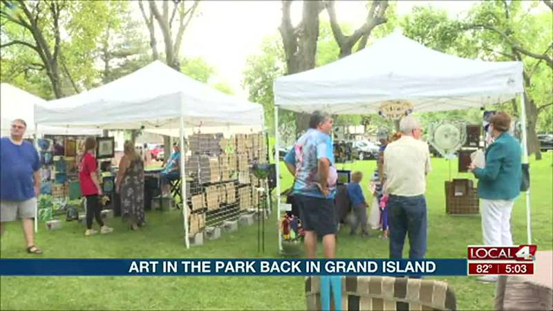 Art in the Park back in Grand Island