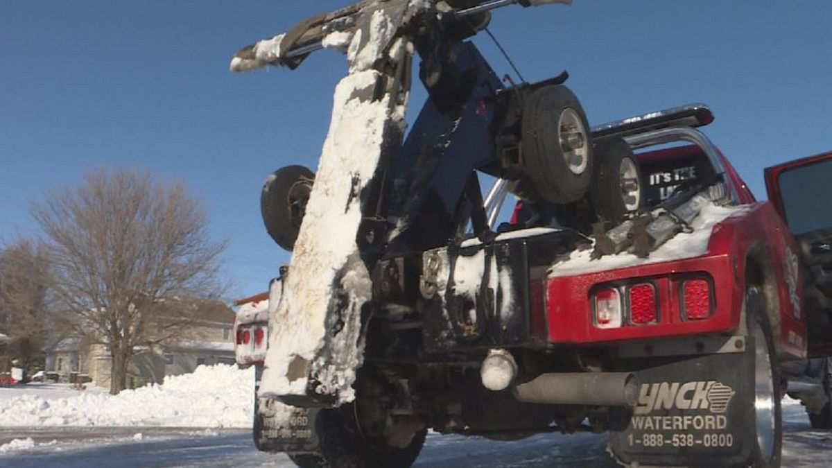 After a big storm, tow truck drivers are the ones who have to help get cars out of ditches or unstuck from deep snow. They warn of the danger they are being put in. (KSNB)