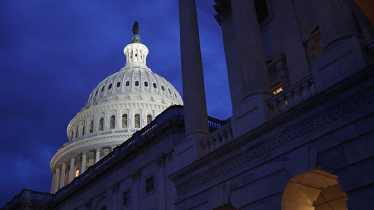 This June 12, 2019 file photo shows the U.S. Capitol dome in Washington. (AP Photo/Patrick Semansky, File)