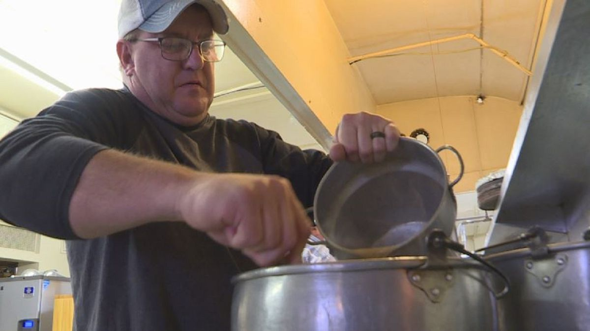 The owner of The Plainsman in Juniata recently sold the business to an employee and with it came the responsibility to feed the community on Thanksgiving. (KSNB)