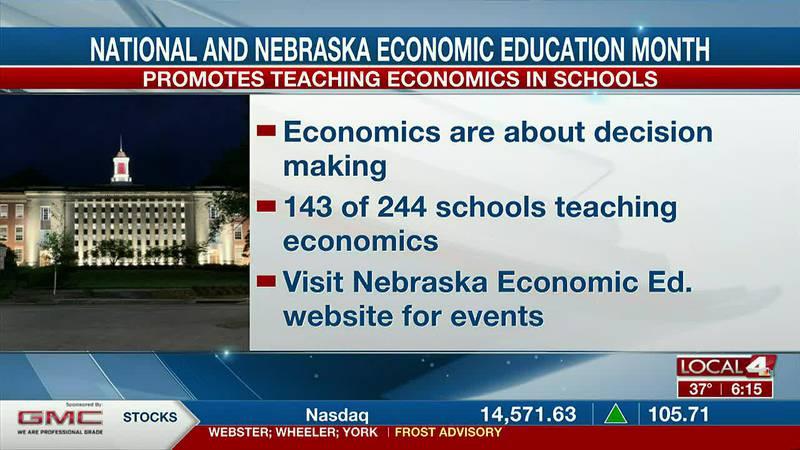 Economics not taught in a lot of Nebraska schools.