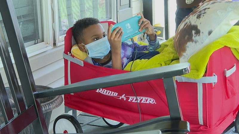 A six-year-old boy who was shot at Newton Elementary Thursday is out of the hospital and...
