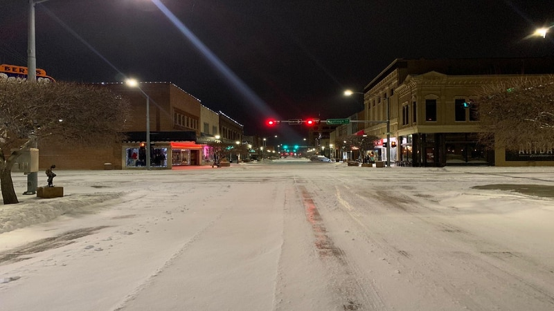 Overnight snow slows morning drivers
