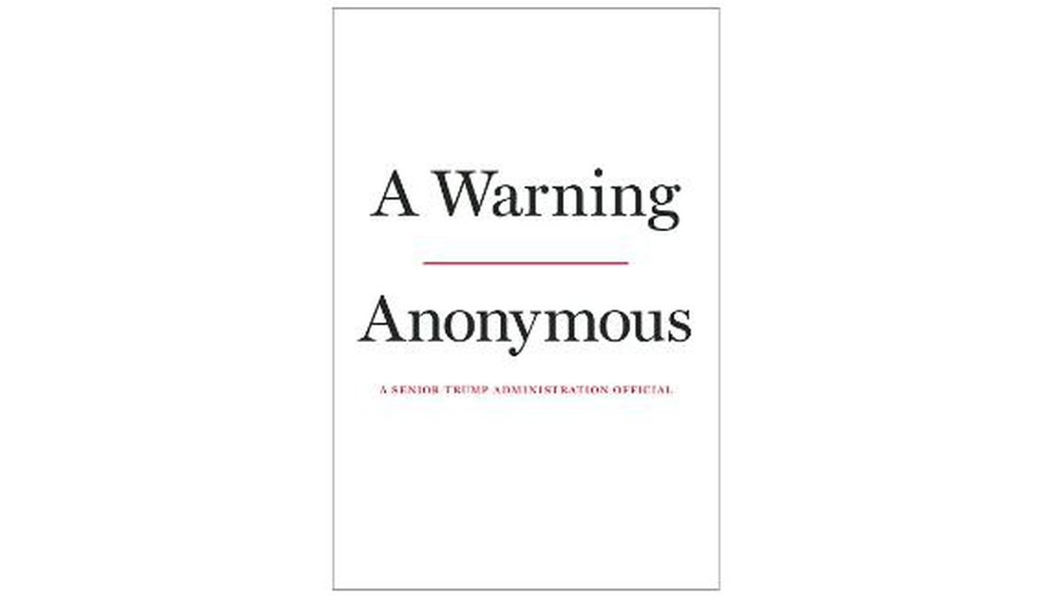 "The Hachette imprint Twelve announced Tuesday that ""A Warning"" will come out Nov. 19. (Source: CNN)"
