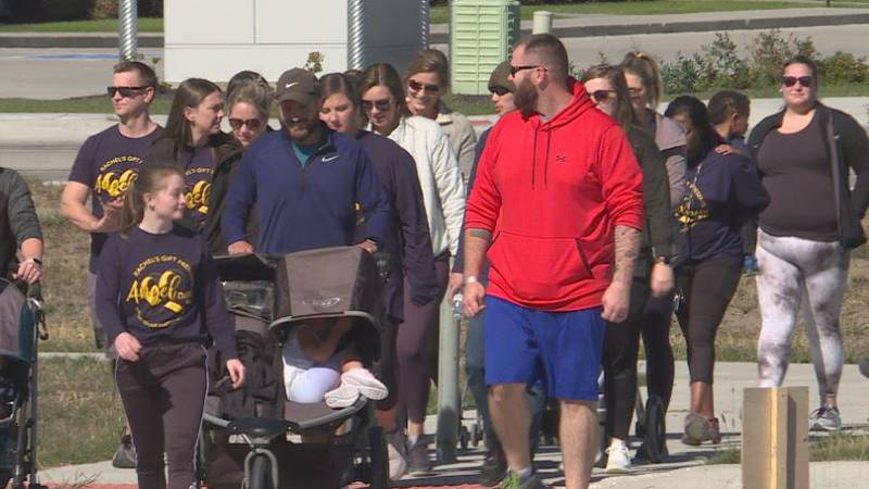 Angel Dash held to support those who had experienced infant death or pregnancy loss.