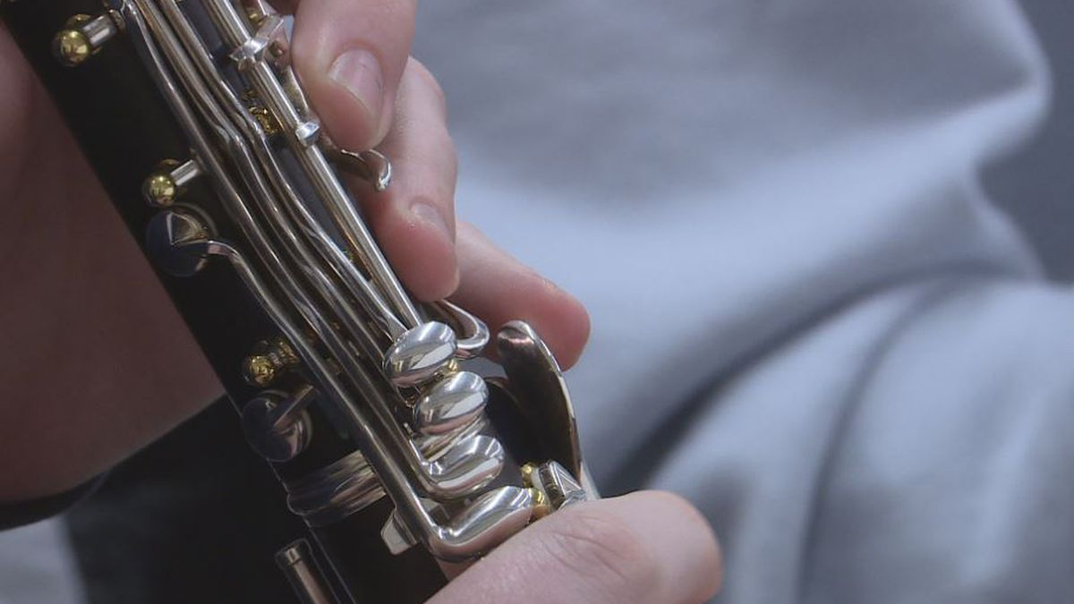 Students from around the region shared their love for music as they practiced to be part of the elite Hastings College Honor Band. (KSNB)