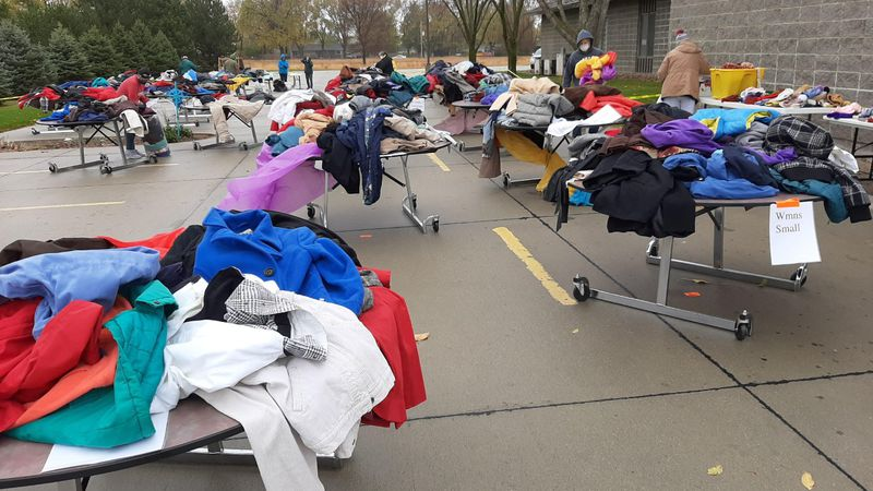 The annual St. Leo's coat drive gets people ready for winter.