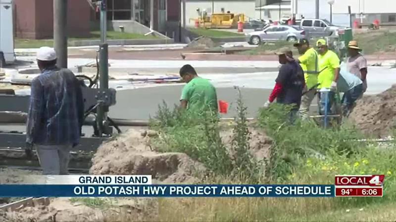 Old Potash Highway project ahead of schedule