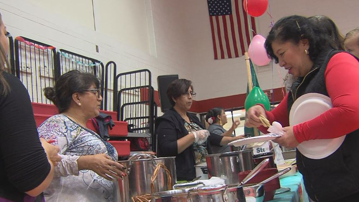Hastings College hosted their 10th annual Cultural Festival Sunday. (Source: Kelsey Dickeson,...