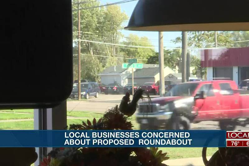 Local businesses speak on how proposed South Elm and East South Street roundabout may impact them