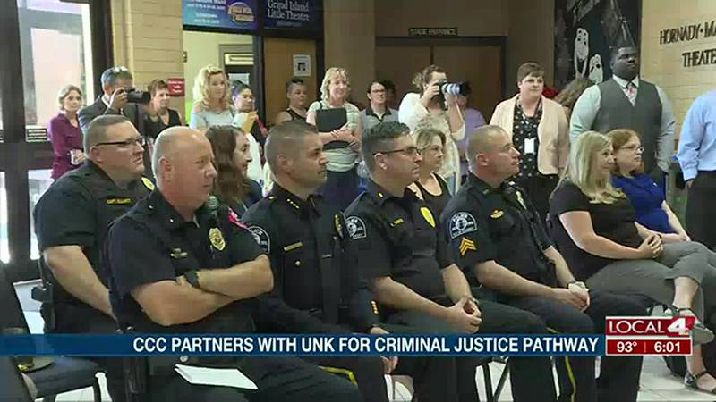 CCC partners with UNK for criminal justice pathway program