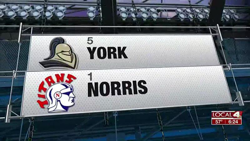 York vs Norris - Class B Semifinals