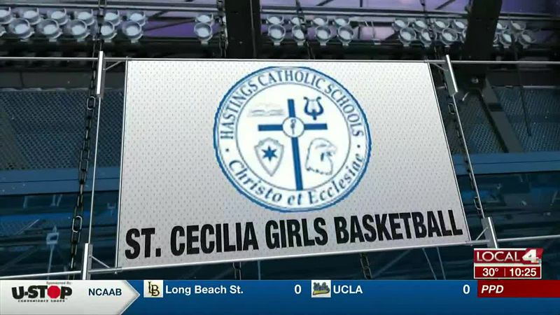 St. Cecilia girls basketball