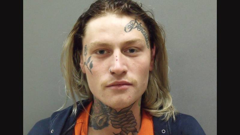23-year old Maxwell Allen of McCook was arrested Tuesday in Curtis. He faces six counts of...