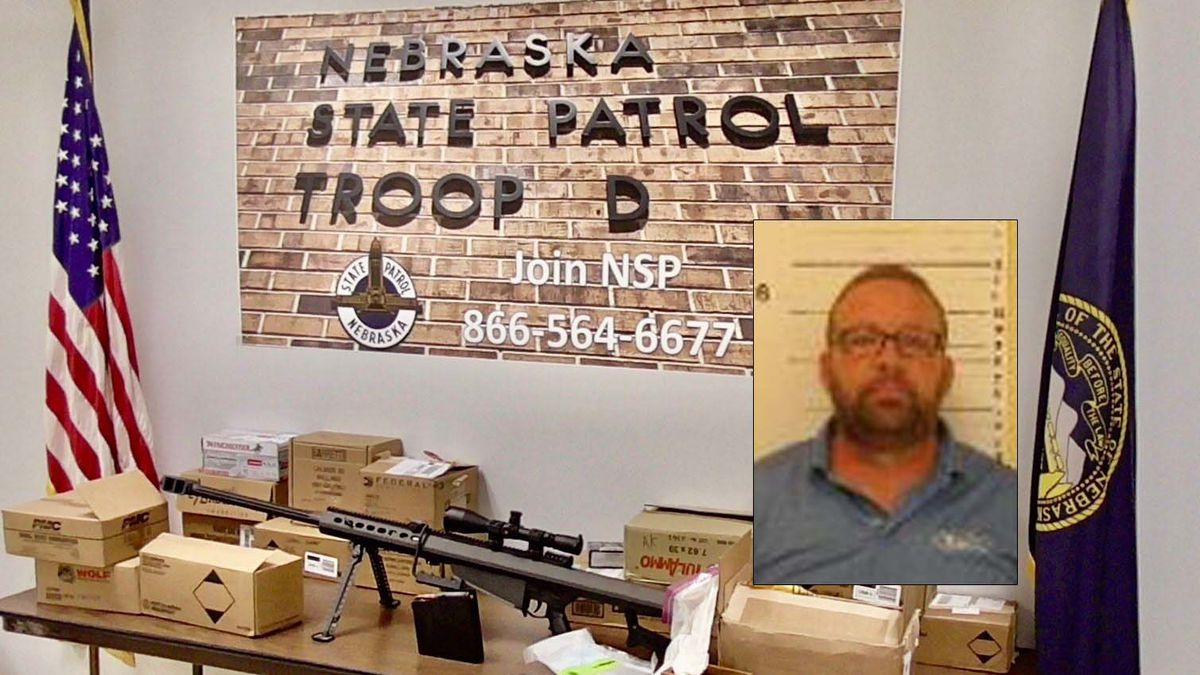 Hunt was arrested for possession of a controlled substance, possession of a pharmaceutical controlled substance with intent to distribute, and possession of a firearm by a prohibited person. Hunt was lodged in Lincoln County Jail.