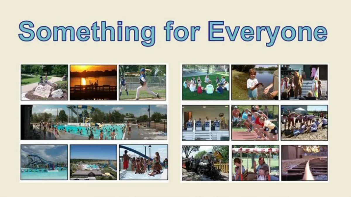 Grand Island Parks and Recreation highlighted some of the activities available for families...