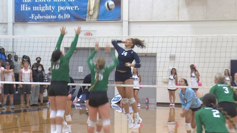 Chloe Cloud goes up for the kill
