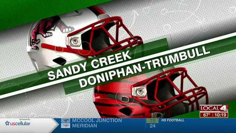 Sandy Creek @ Doniphan-Trumbull Football