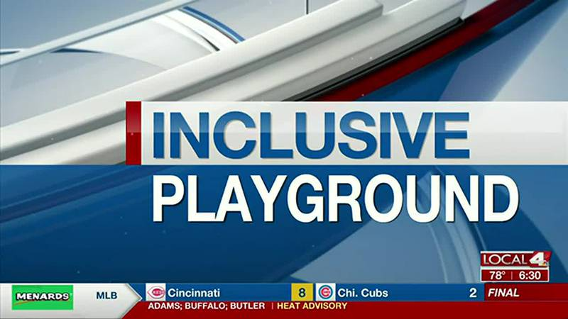 CCC students work on inclusive playground