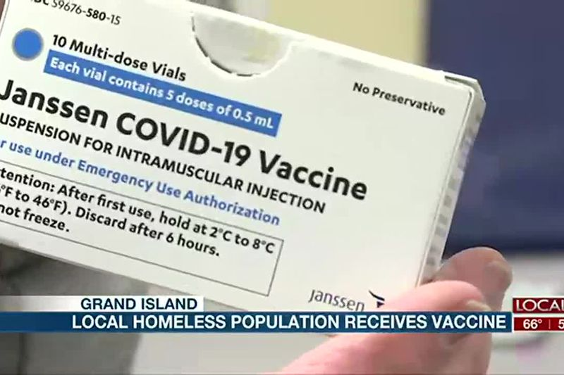 Homeless in GI receive Johnson & Johnson vaccine