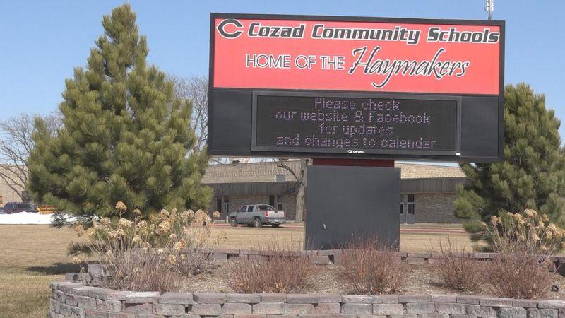 Cozad high school raises money for veterans non-profit organization during FFA Week. Omaha...