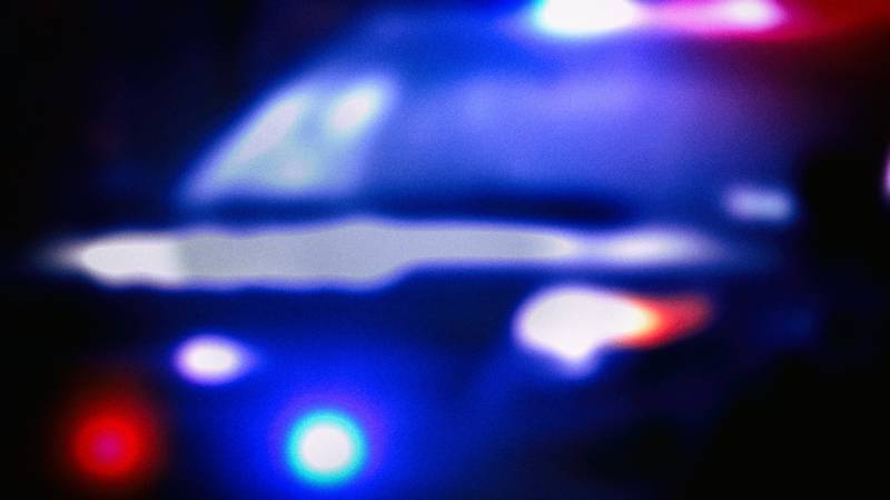 Two juveniles were arrested after their vehicle crashed on an interstate exit.