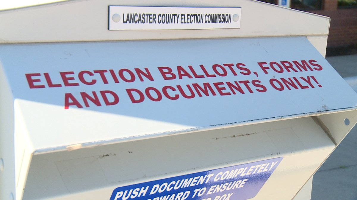 Election officials discuss mail-in voting for general election.