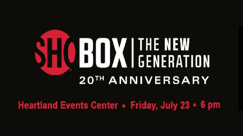 A nationally televised boxing event coming to Grand Island in July.