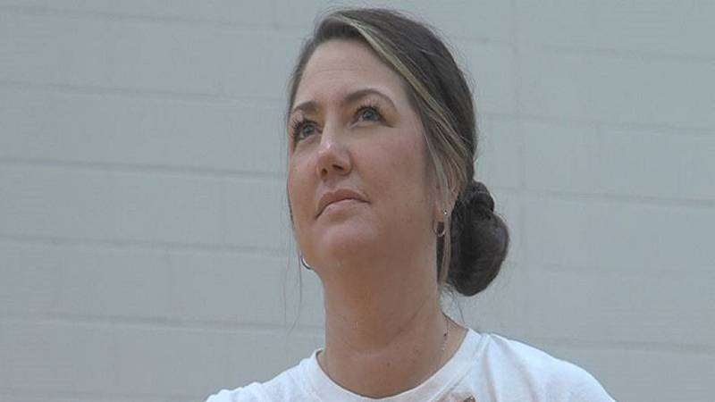 Hastings High volleyball coach Allison Soucie.