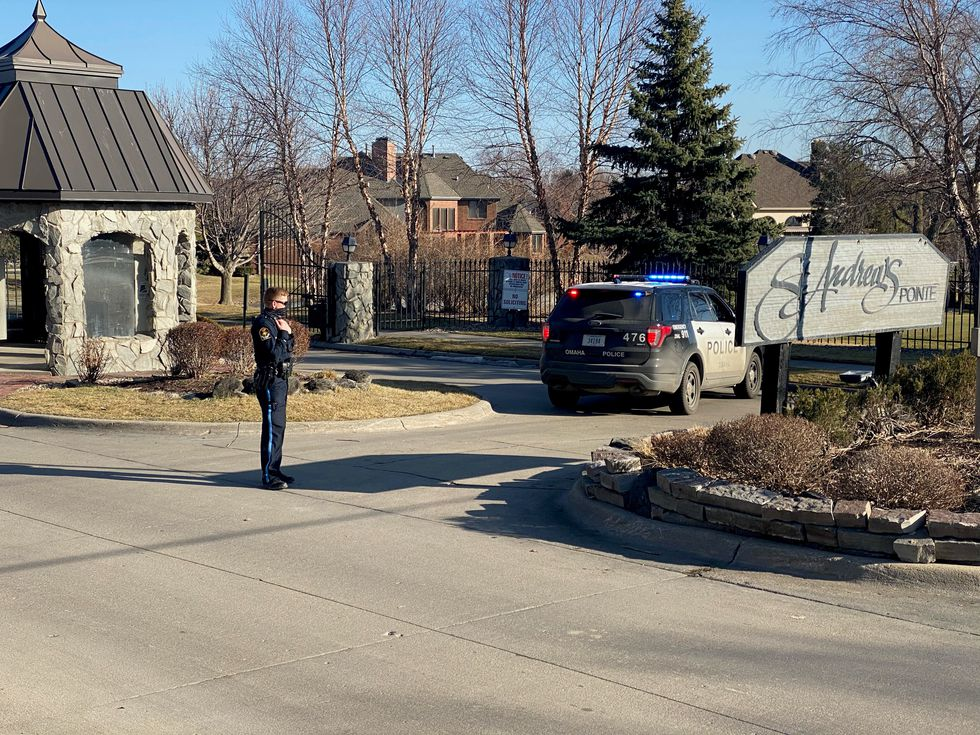 Omaha Police were checking IDs outside Mayor Jean Stothert's neighborhood on Friday afternoon,...
