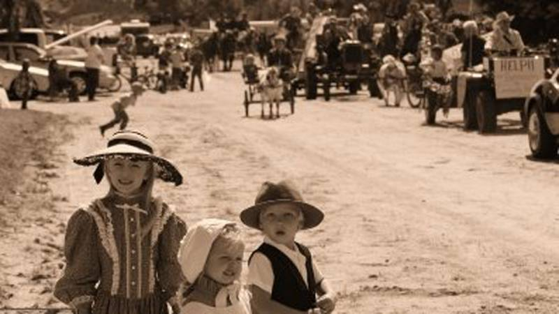This picture is taken from one of the many community activities put on by the Wellfleet...
