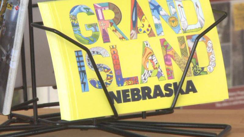 Grand Island Tourism's lobby is full of brochures and information for tourists from across the...