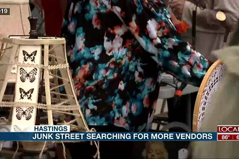 Junk Street is looking for more vendors for their event September 11, 2021.