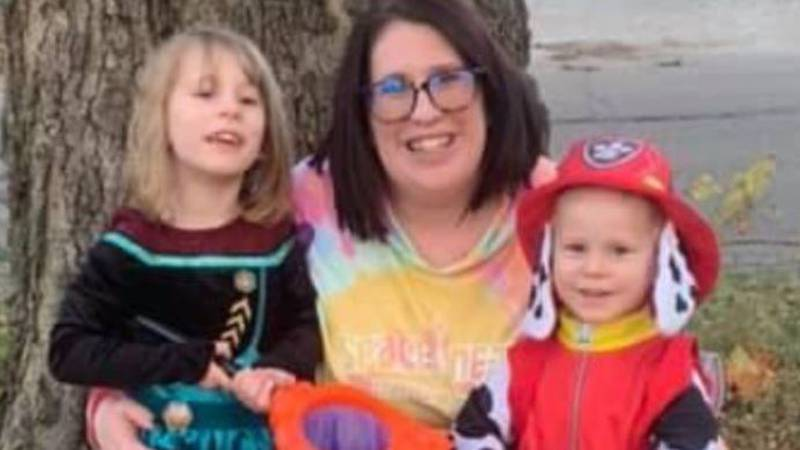 Emily, 5, and Teddy Price, 3, shown here with their mother, Mary Nielsen, were found dead...