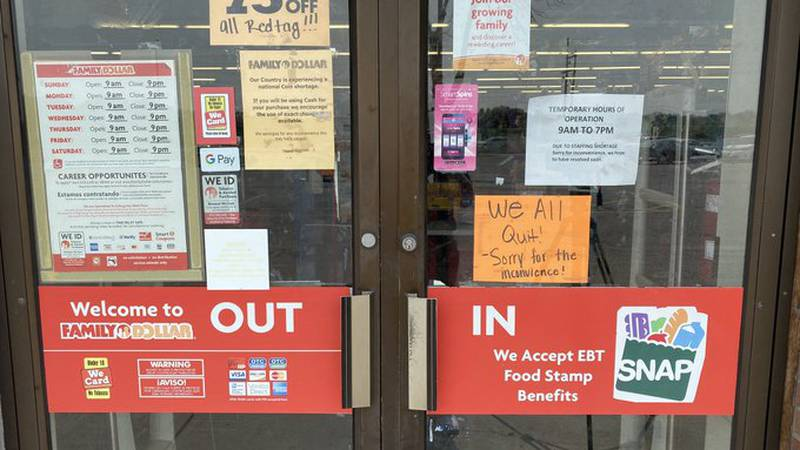Family Dollar employees quit