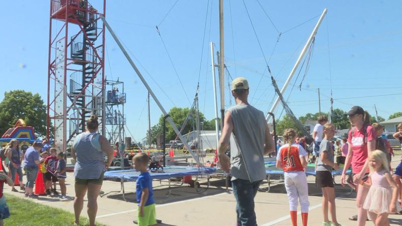 Families in Hastings got to enjoy the hot weather at the Hastings YMCA's first-ever Summer Fest...