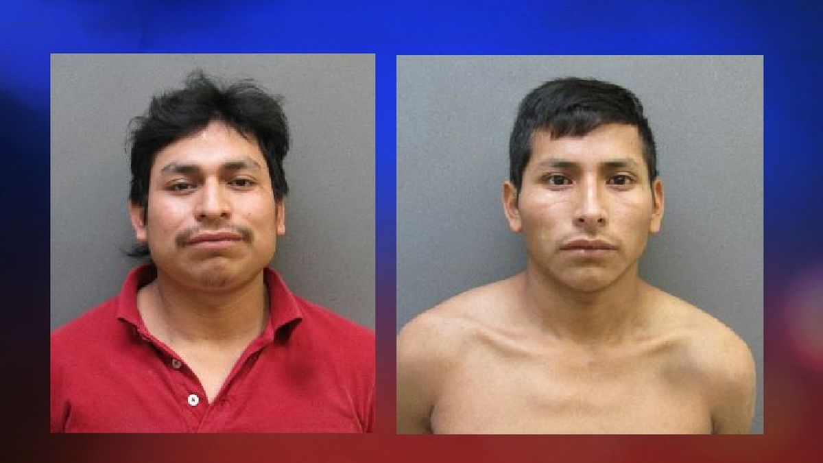 Candelario Hernandez-Ralios (left) and his brother Santiago Hernandez-Ralios are facing charges...