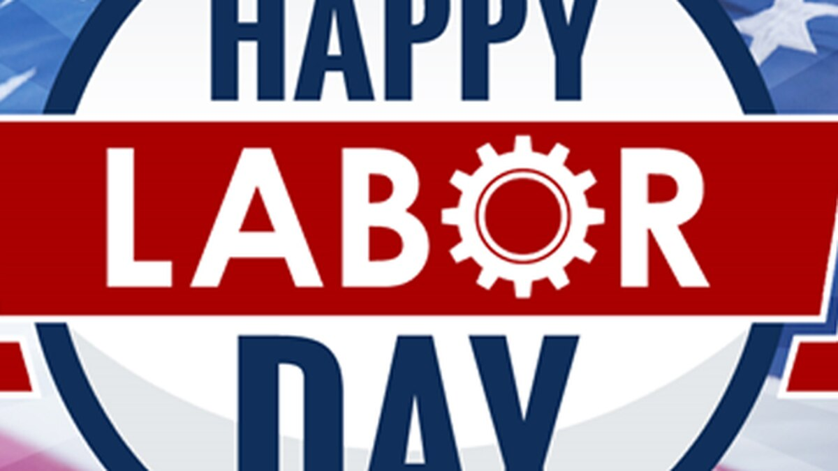 City and state offices will be closed in observance of the Labor Day Holiday.