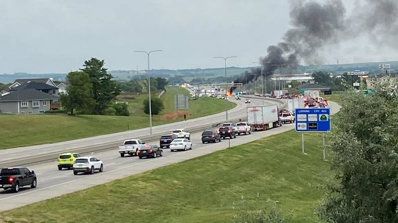 Nebraska State Patrol responded to a major crash on I-80 westbound past 27th Street heading...