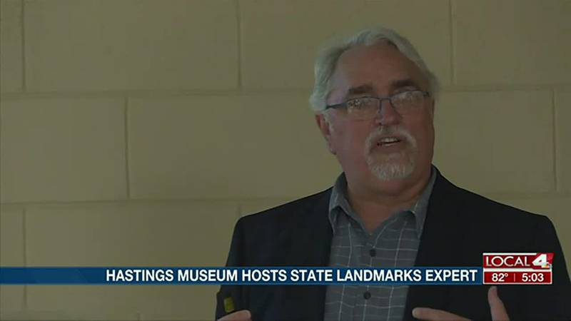 Hastings Museum hosts state monument expert