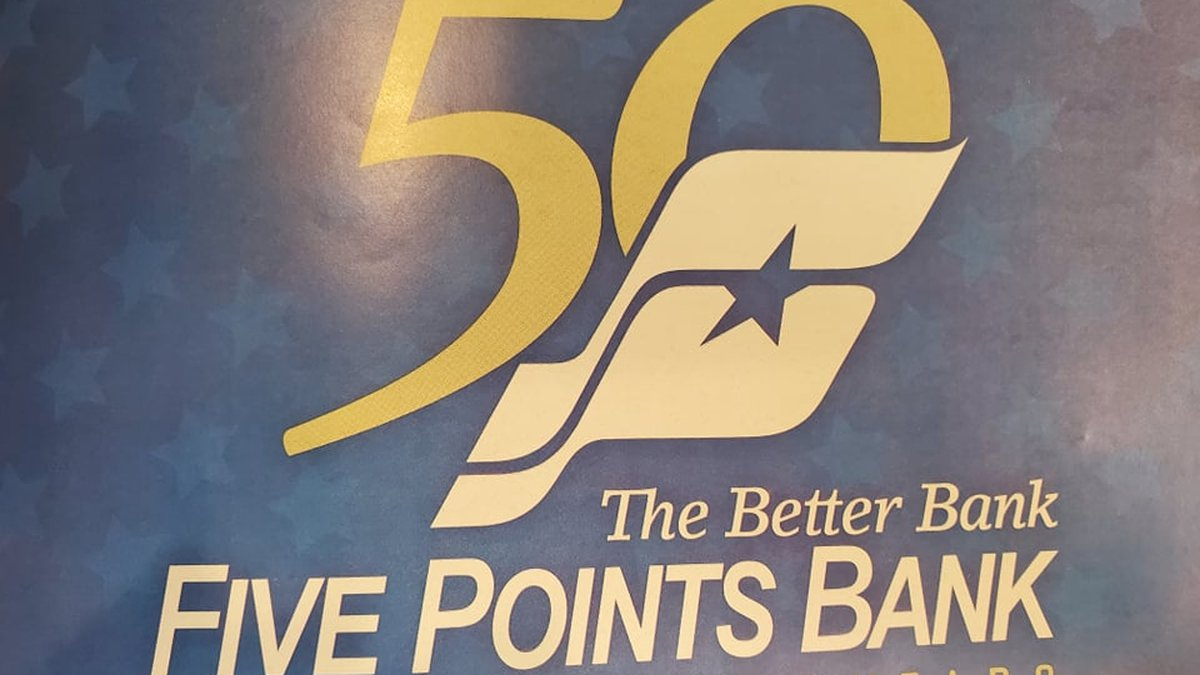 Five Points Bank celebrating 50 years with a dedicated day at the Nebraska State Fair.
