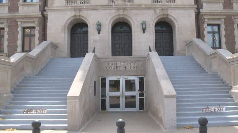 Repairs on the courthouse are expected to close a section of Locust Street for one week.