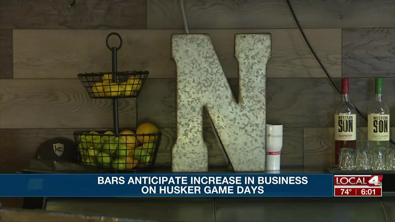 Local sports bars anticipate an increase in business on Husker game days.